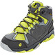 Jack Wolfskin MTN Attack 2 Texapore Hiking Shoes Mid Cut Kids flashing green